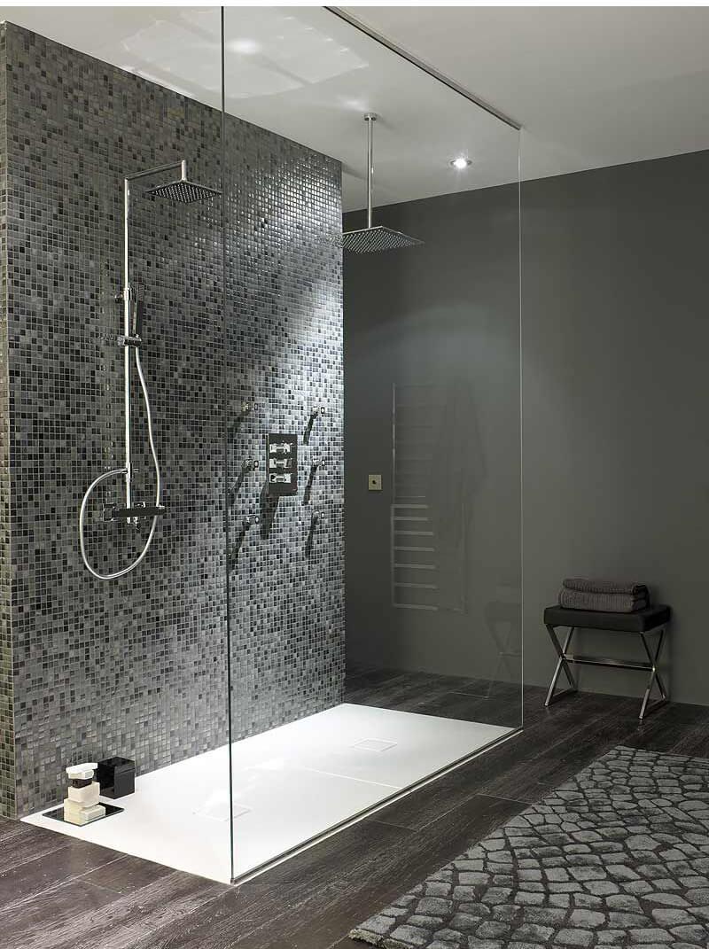 cuarto-de-baño-moderno-ducha - Guiaarquitectura