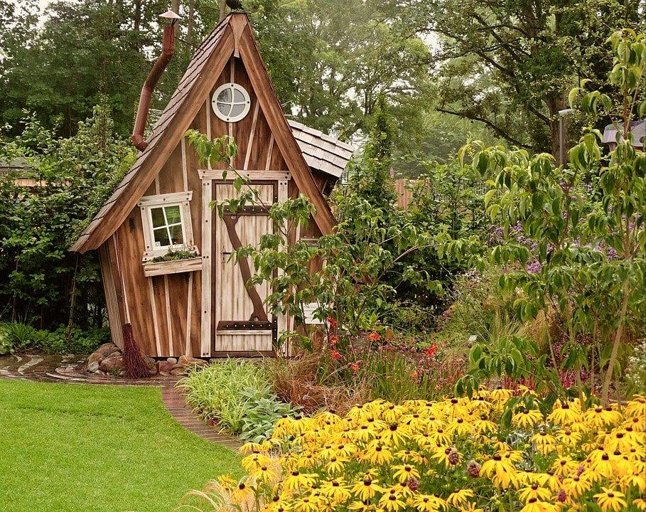 Casetas de madera exteriores para jard n gu a arquitectura for Casetas jardin madera
