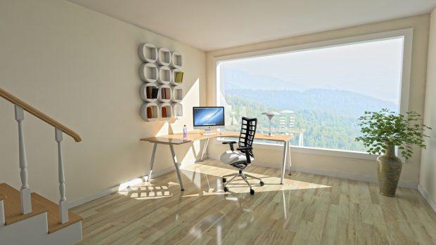 ¿Pisos laminados para oficinas?