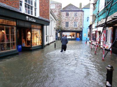 Soluciones para los problemas de las lluvias torrenciales