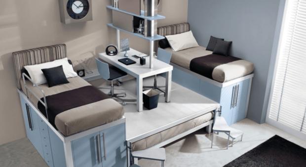 9 ideas para organizar tu dormitorio y ahorrar espacio
