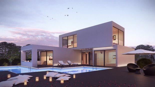 Casa con jardín y piscina, la casa de tus sueños