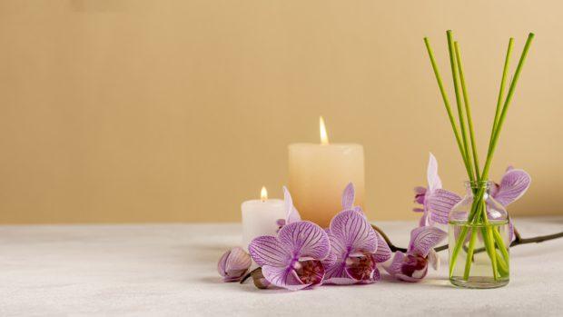 Ideas para decorar con velas el hogar