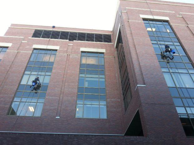 Trabajos verticales: cuando la reforma va por fuera