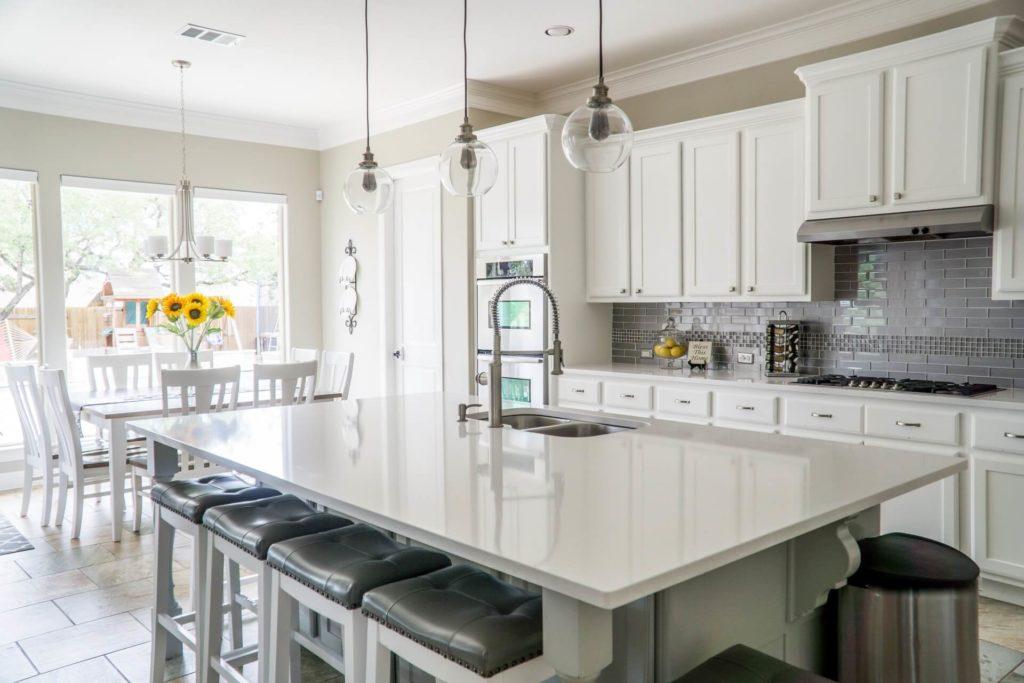 Cocinas como centro de la vivienda