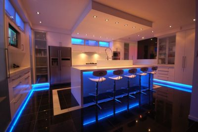 Decora tu casa con luces LED