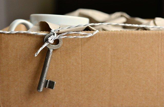 caja con llave segura