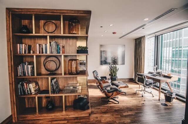 interior de oficinas