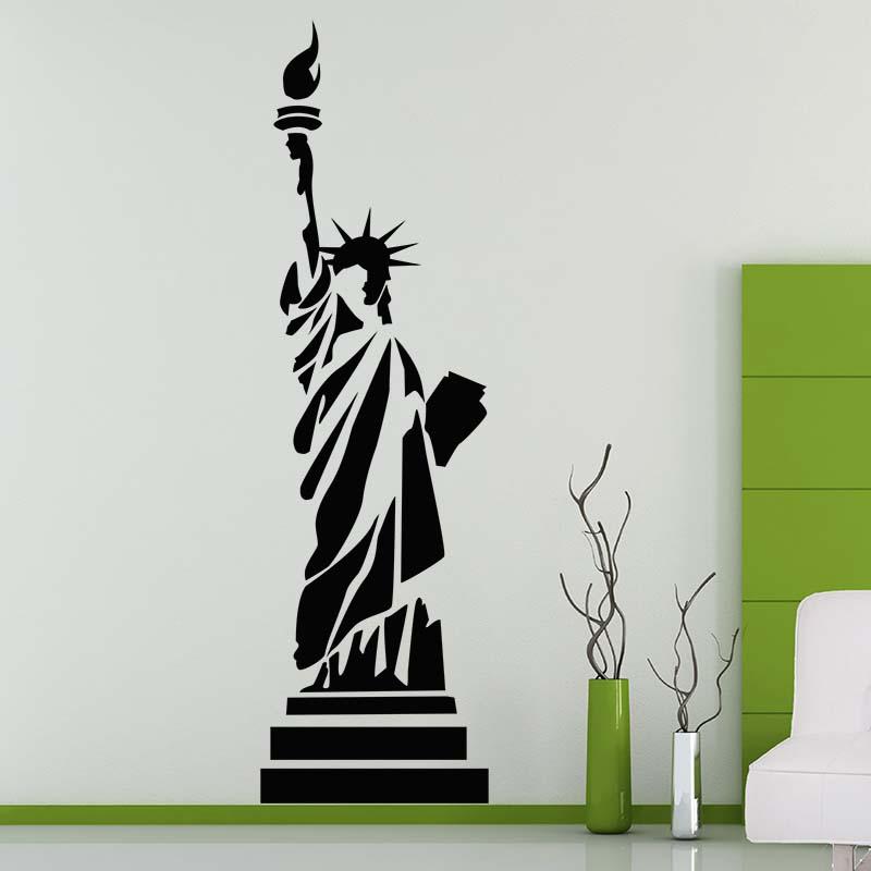 Vinilo de la estatua de la libertad