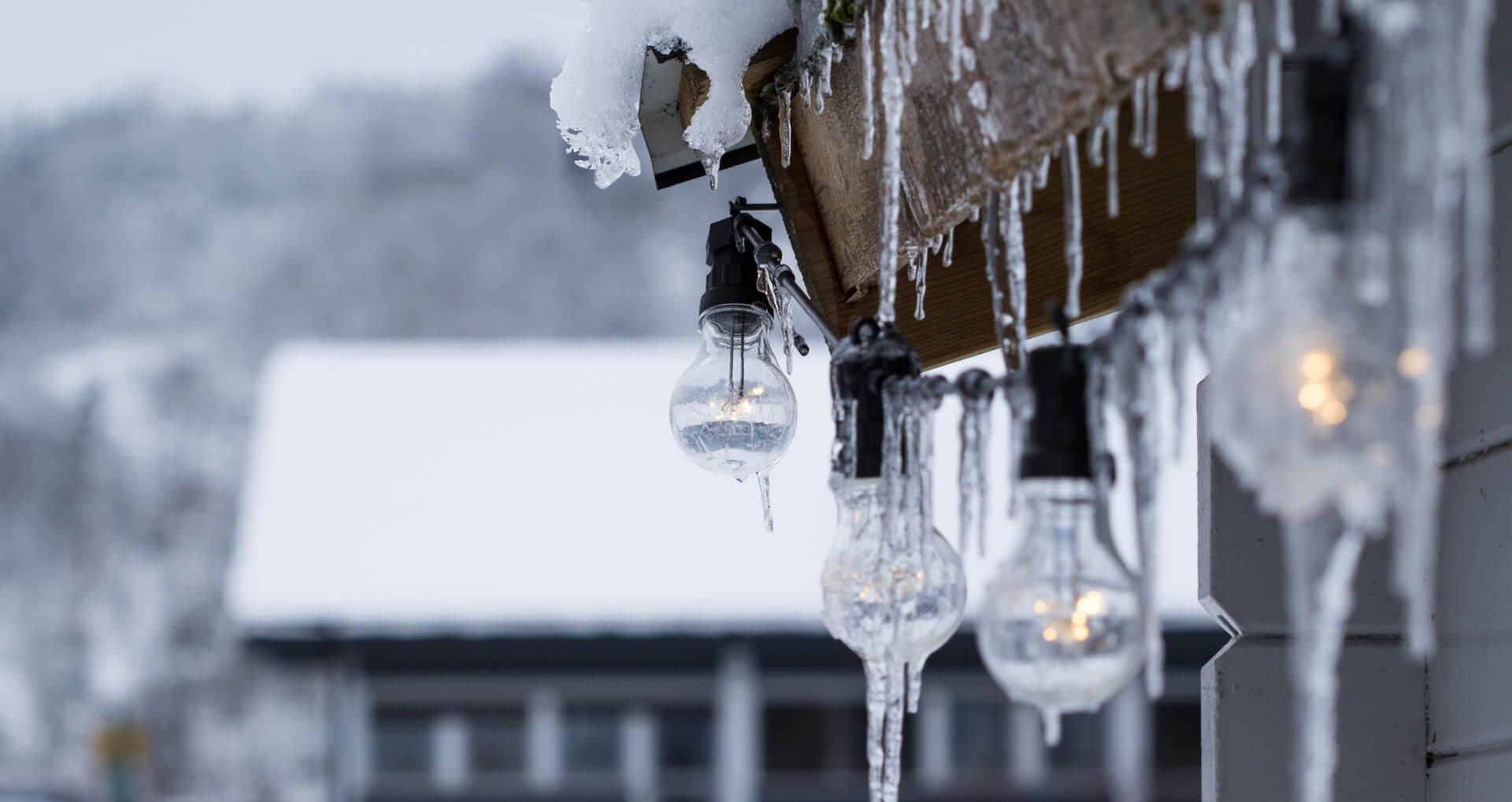 Canalones para nieve y heladas