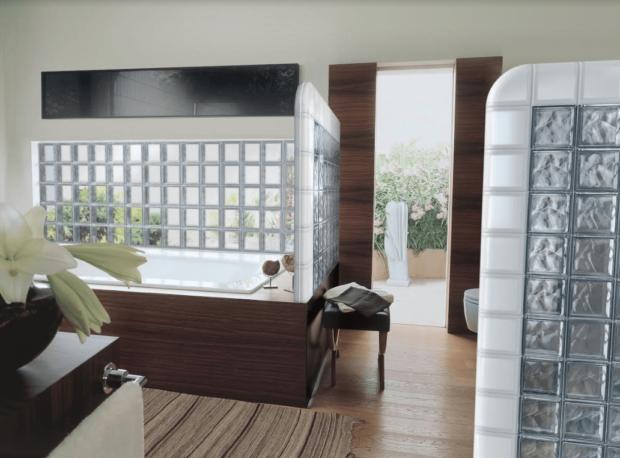 Añade originalidad, practicidad y elegancia a tu diseño con bloques de vidrio