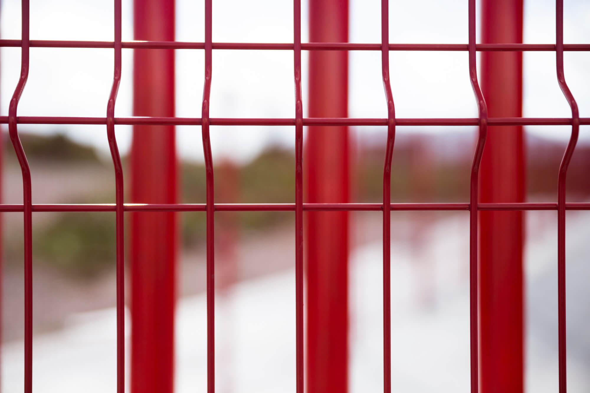 valla roja